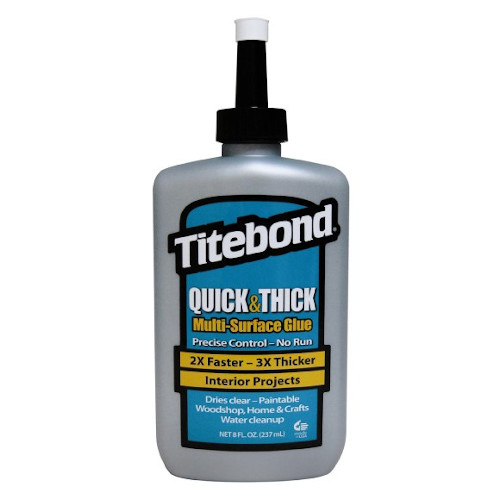 Lepidlo na dřevo Titebond Quick & Thick D2 - 237ml