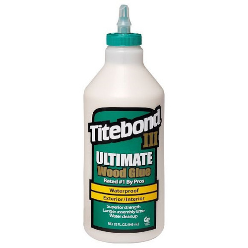 Lepidlo na dřevo Titebond III Ultimate D4 - 946 ml