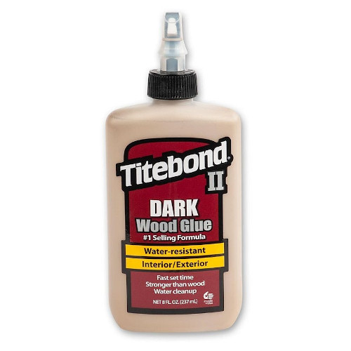 Lepidlo na dřevo Titebond II Dark D3 - 237ml